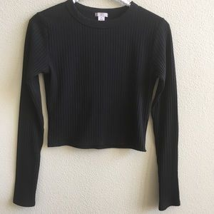 BP Black Crop Top Size - Medium
